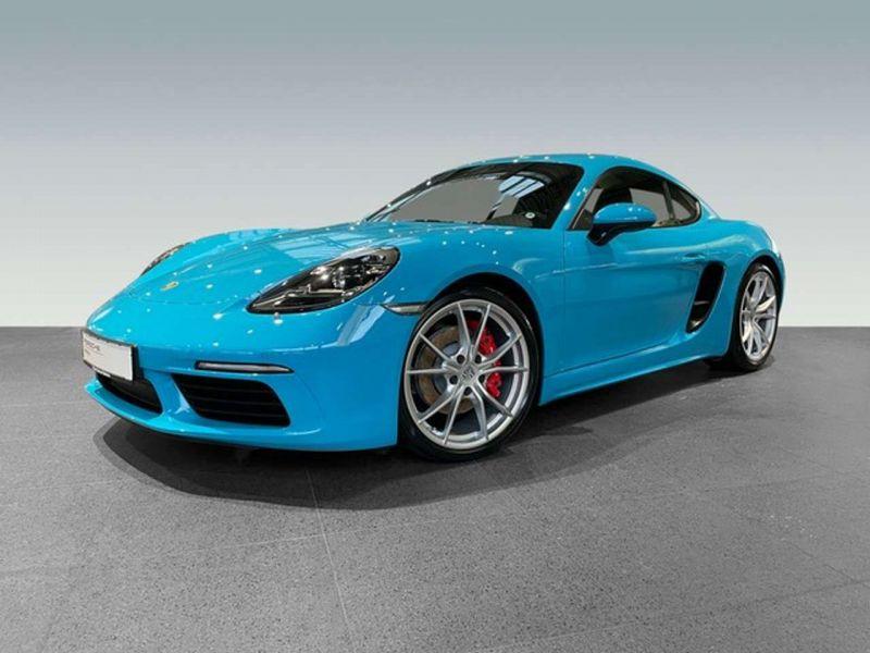 Porsche Cayman 2.5 S PDK Bleu occasion à BEAUPUY