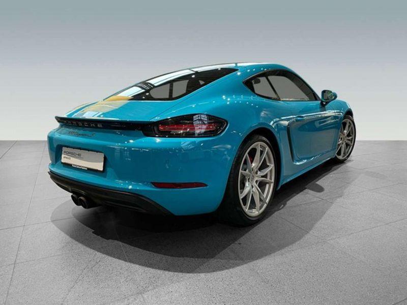 Porsche Cayman 2.5 S PDK Bleu occasion à BEAUPUY - photo n°3