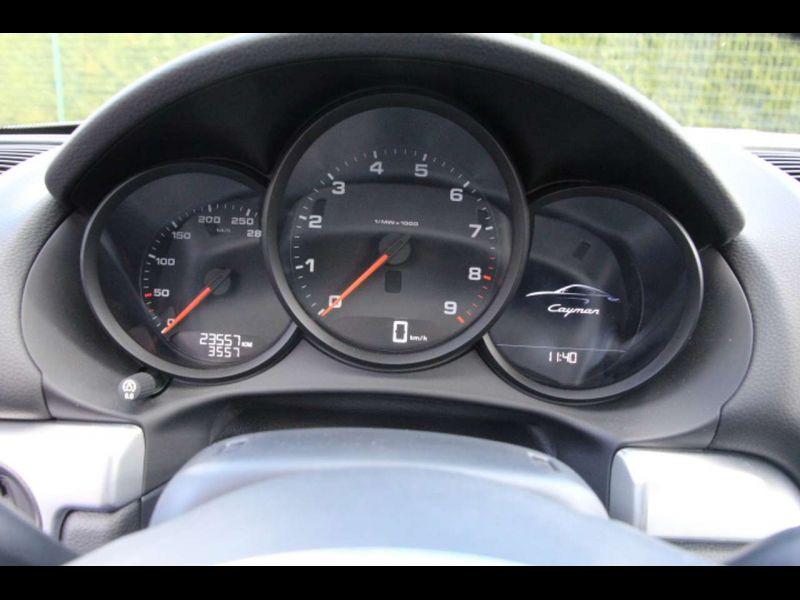 Porsche Cayman 2.7 BLACK EDITION Noir occasion à BEAUPUY - photo n°6