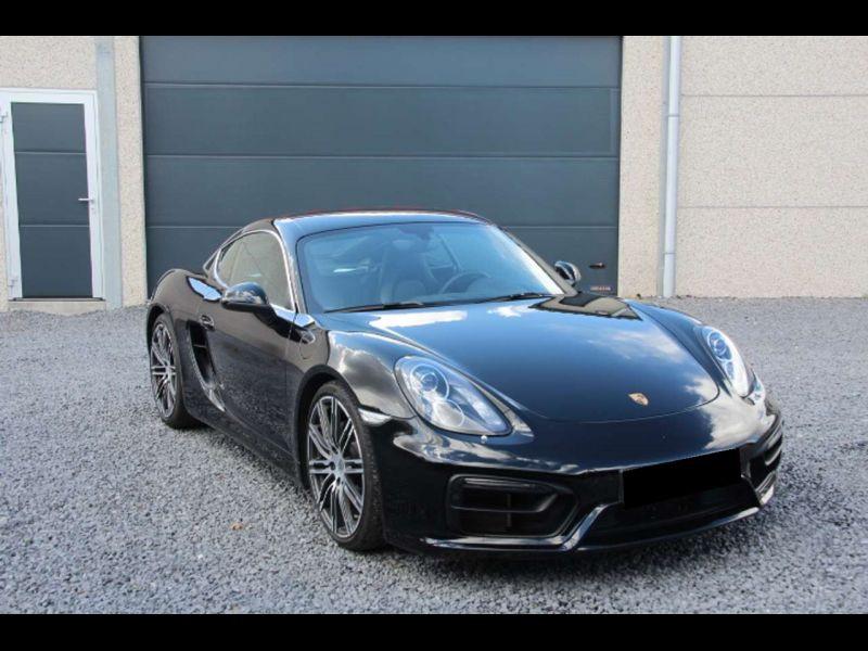 Porsche Cayman 2.7 BLACK EDITION Noir occasion à BEAUPUY