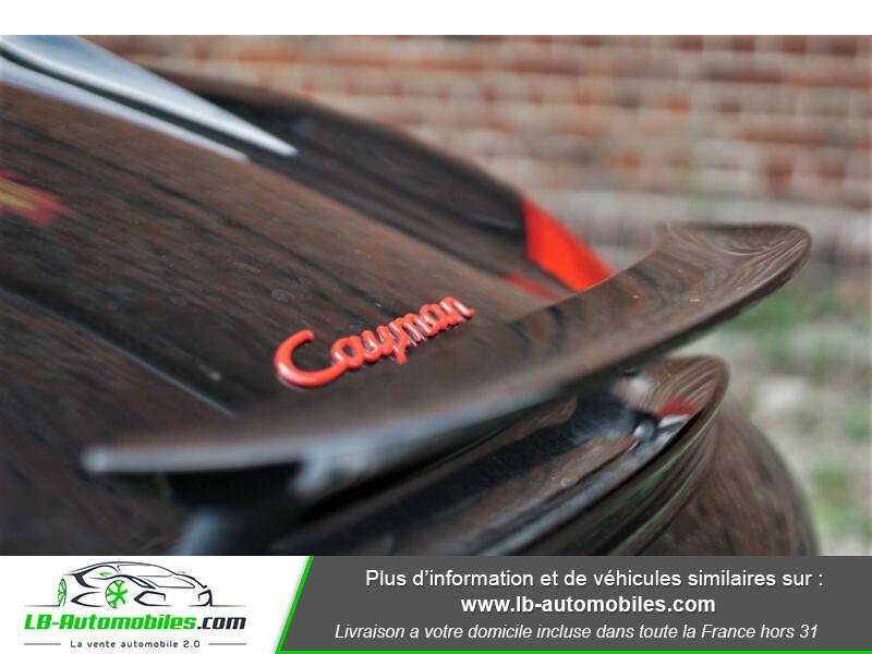 Porsche Cayman 2.9 PDK Noir occasion à Beaupuy - photo n°8