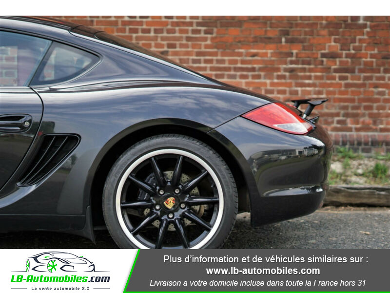 Porsche Cayman 2.9 PDK Noir occasion à Beaupuy - photo n°15