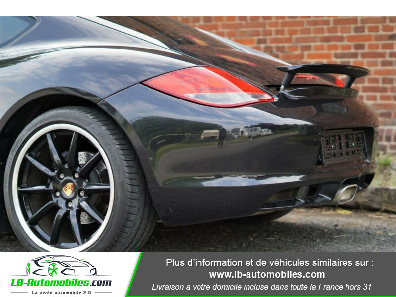 Porsche Cayman 2.9 PDK Noir occasion à Beaupuy - photo n°9