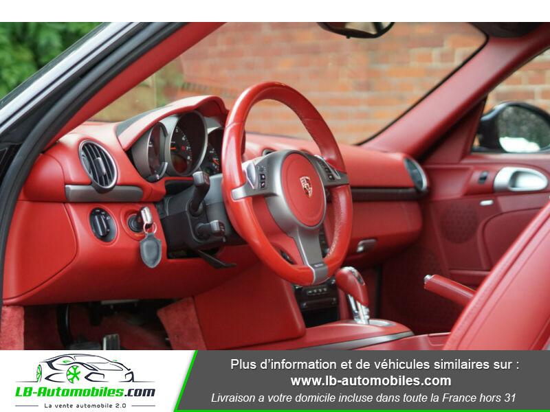 Porsche Cayman 2.9 PDK Noir occasion à Beaupuy - photo n°4