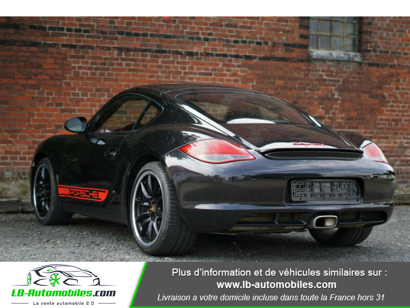 Porsche Cayman 2.9 PDK Noir occasion à Beaupuy - photo n°3