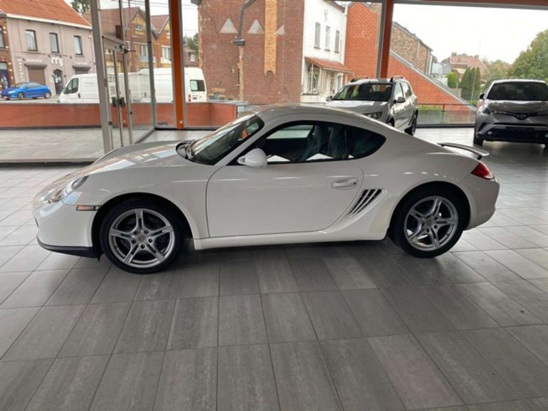 Porsche Cayman 2.9 Blanc occasion à BEAUPUY - photo n°8