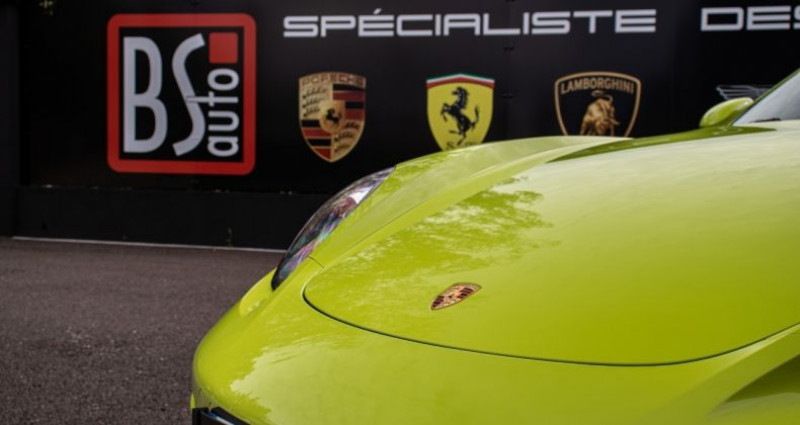 Porsche Cayman 718 Vert lumiere 300ch Vert occasion à SOUFFELWEYERSHEIM - photo n°7