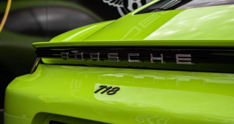 Porsche Cayman 718 Vert lumiere 300ch Vert occasion à SOUFFELWEYERSHEIM - photo n°5