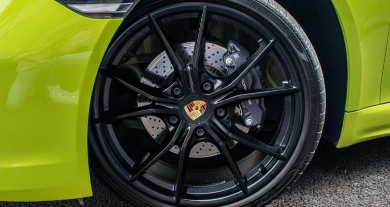 Porsche Cayman 718 Vert lumiere 300ch Vert occasion à SOUFFELWEYERSHEIM - photo n°3
