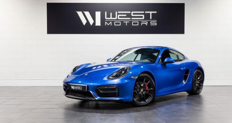 Porsche Cayman 981 GTS 3.4 340 Ch Bleu occasion à DARDILLY