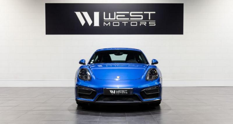 Porsche Cayman 981 GTS 3.4 340 Ch Bleu occasion à DARDILLY - photo n°2