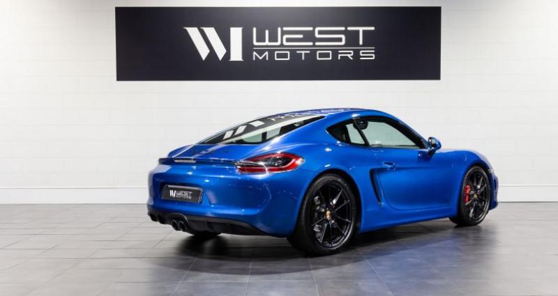 Porsche Cayman 981 GTS 3.4 340 Ch Bleu occasion à DARDILLY - photo n°4