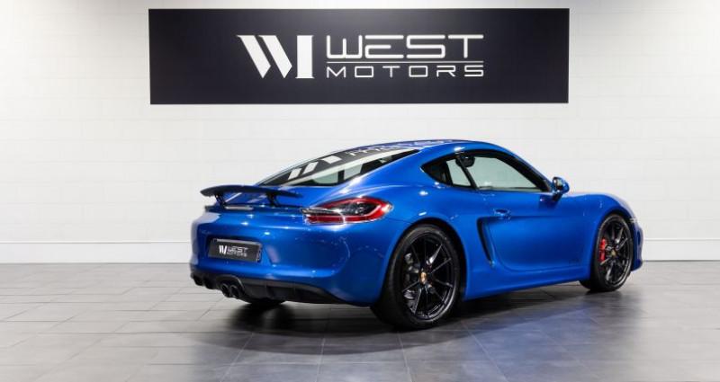 Porsche Cayman 981 GTS 3.4 340 Ch Bleu occasion à DARDILLY - photo n°5