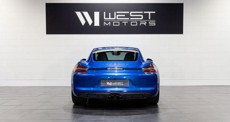 Porsche Cayman 981 GTS 3.4 340 Ch Bleu occasion à DARDILLY - photo n°6
