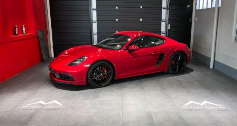 Porsche Cayman Cayman GTS Rouge occasion à MAGENTA