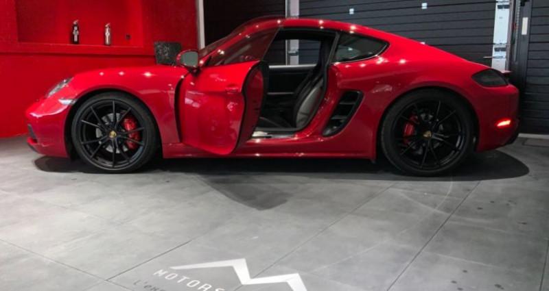 Porsche Cayman Cayman GTS Rouge occasion à MAGENTA - photo n°6