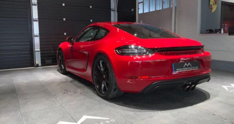 Porsche Cayman Cayman GTS Rouge occasion à MAGENTA - photo n°4