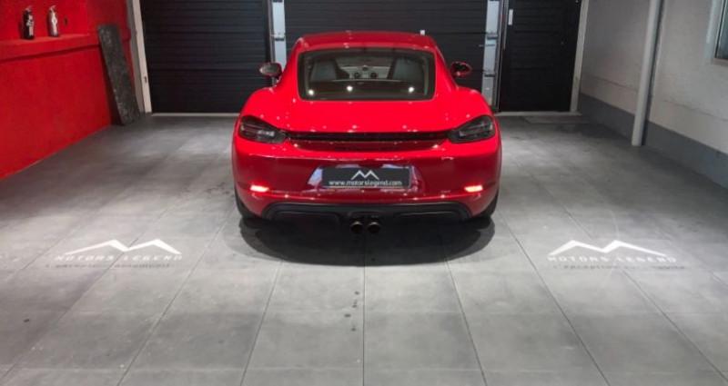 Porsche Cayman Cayman GTS Rouge occasion à MAGENTA - photo n°5