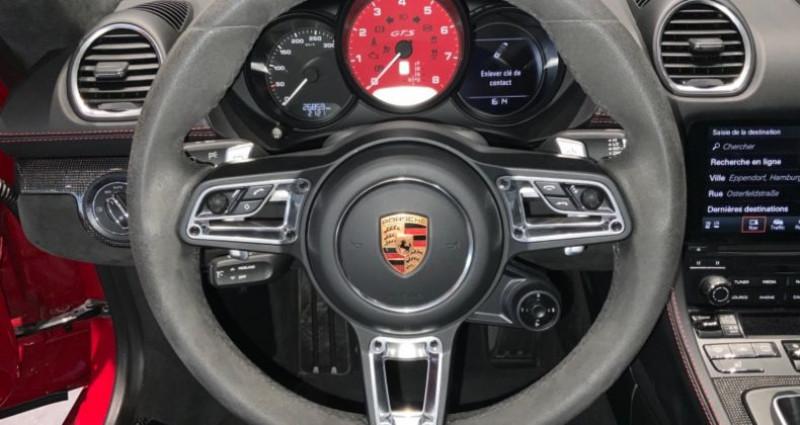 Porsche Cayman Cayman GTS Rouge occasion à MAGENTA - photo n°2