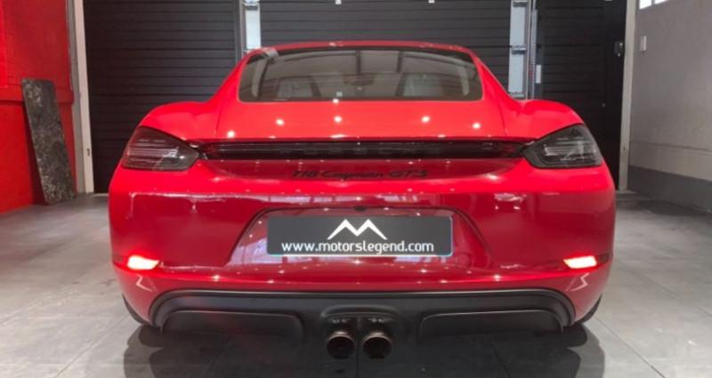 Porsche Cayman Cayman GTS Rouge occasion à MAGENTA - photo n°3