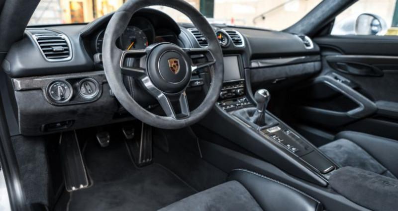 Porsche Cayman GT4 *918 Spyder seats* Argent occasion à PARIS - photo n°7