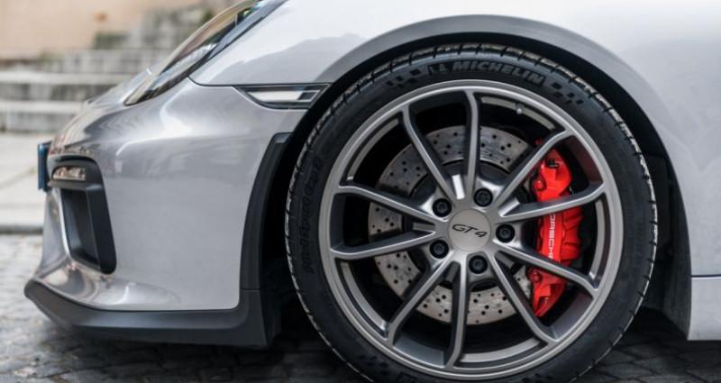 Porsche Cayman GT4 *918 Spyder seats* Argent occasion à PARIS - photo n°6