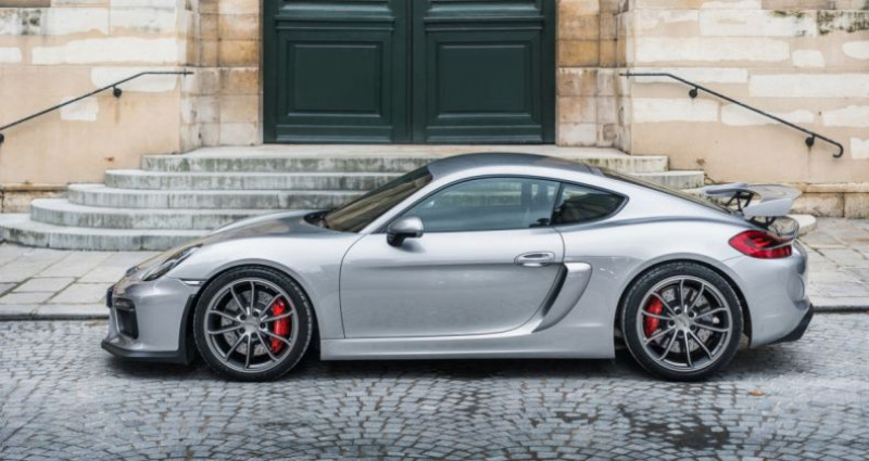 Porsche Cayman GT4 *918 Spyder seats* Argent occasion à PARIS - photo n°2