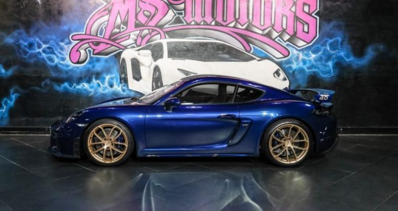 Porsche Cayman GT4 Bleu occasion à CANNES - photo n°3