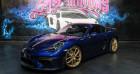 Porsche Cayman GT4 Bleu à CANNES 06