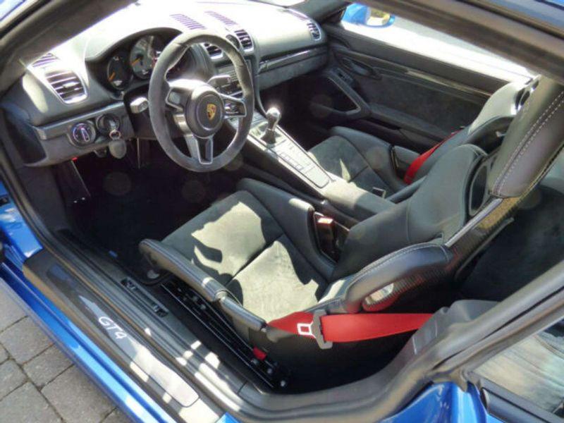 Porsche Cayman GT4 Bleu occasion à BEAUPUY - photo n°2