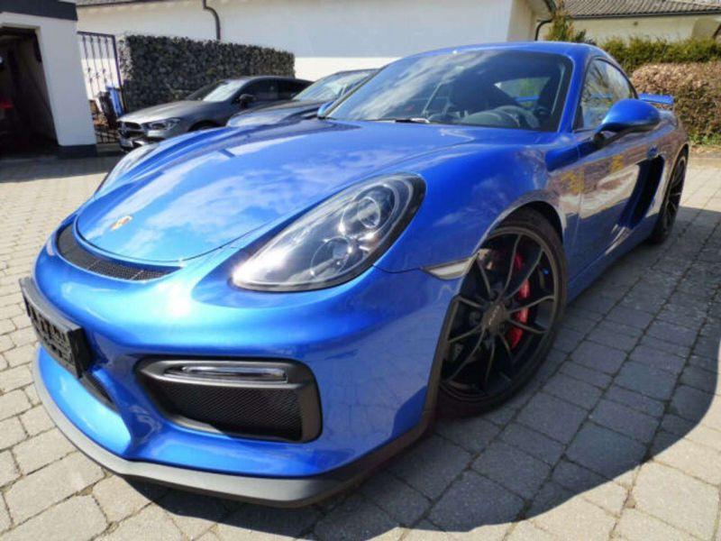 Porsche Cayman GT4 Bleu occasion à BEAUPUY