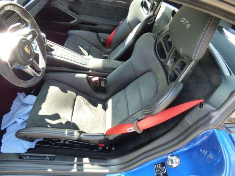Porsche Cayman GT4 Bleu occasion à BEAUPUY - photo n°8