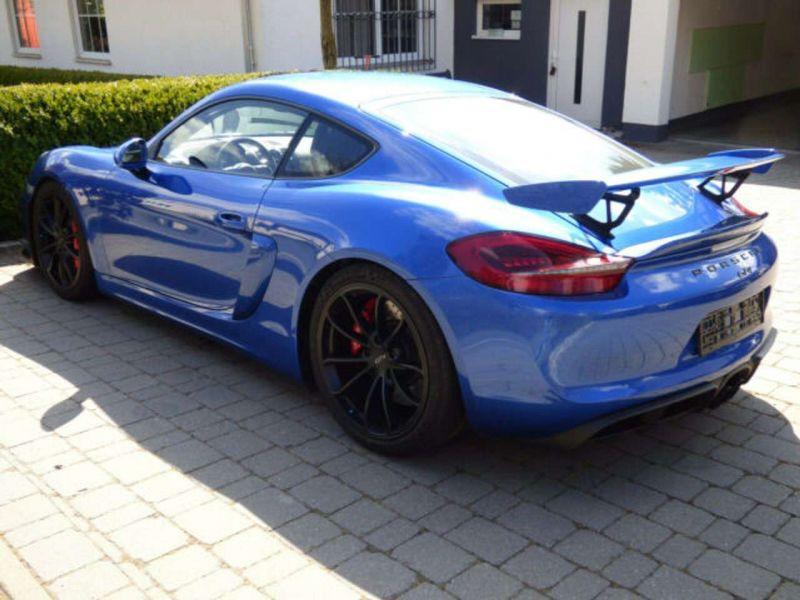 Porsche Cayman GT4 Bleu occasion à BEAUPUY - photo n°9