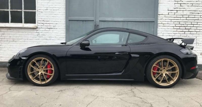 Porsche Cayman GTS 4.0 L CLUBSPORT CARBON SEATS CARPLAY Noir occasion à Waterlo - photo n°6