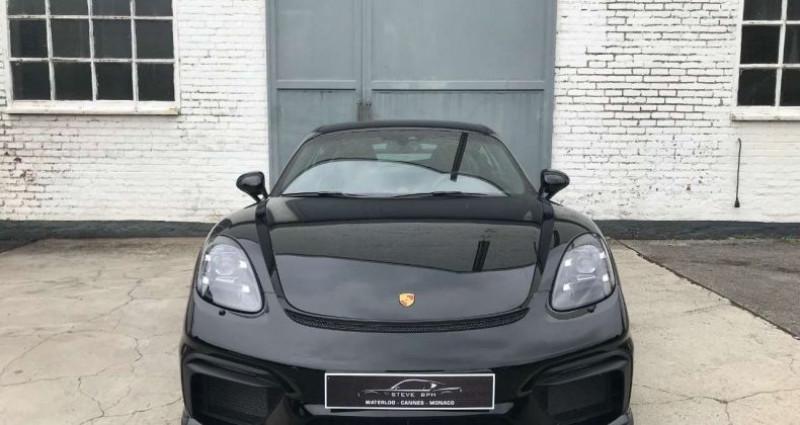 Porsche Cayman GTS 4.0 L CLUBSPORT CARBON SEATS CARPLAY Noir occasion à Waterlo - photo n°7