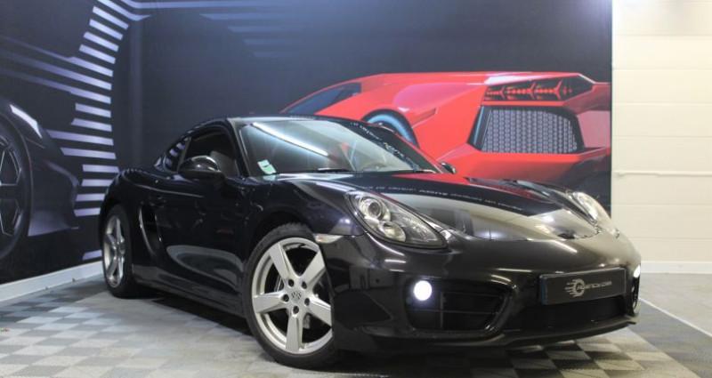 Porsche Cayman II (981) 2.7 275ch PDK Noir occasion à COIGNIERES - photo n°4