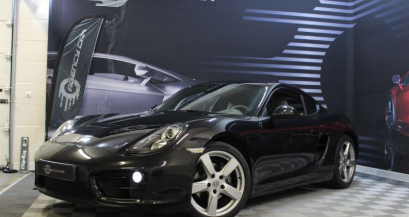Porsche Cayman II (981) 2.7 275ch PDK Noir occasion à COIGNIERES