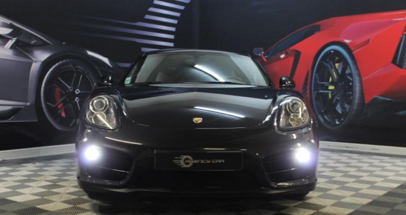 Porsche Cayman II (981) 2.7 275ch PDK Noir occasion à COIGNIERES - photo n°3
