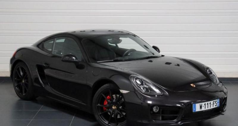 Porsche Cayman S Noir occasion à Geispolsheim