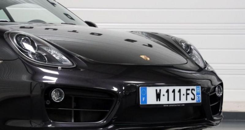 Porsche Cayman S Noir occasion à Geispolsheim - photo n°6