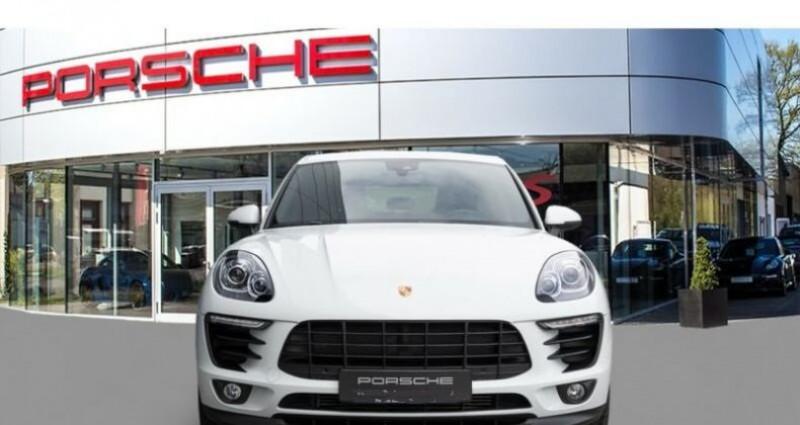 Porsche Macan # Inclus Carte Grise, malus écolo et livraison à votre domic Blanc occasion à Mudaison - photo n°3