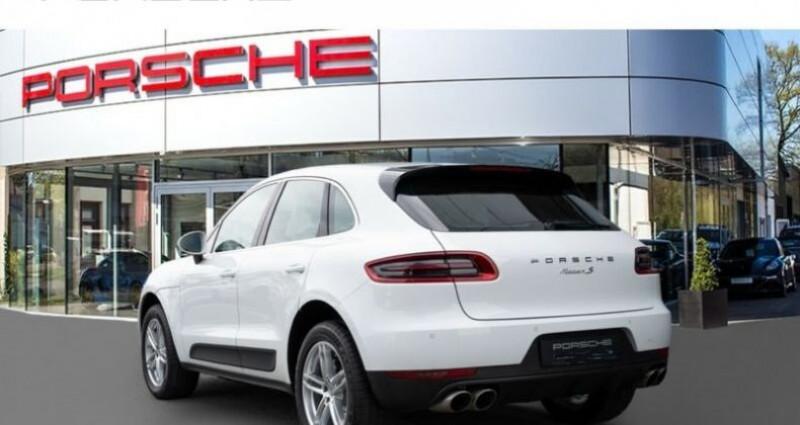 Porsche Macan # Inclus Carte Grise, malus écolo et livraison à votre domic Blanc occasion à Mudaison - photo n°2