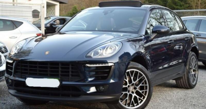 Porsche Macan 2.0 252ch PDK Bleu occasion à Boulogne-Billancourt
