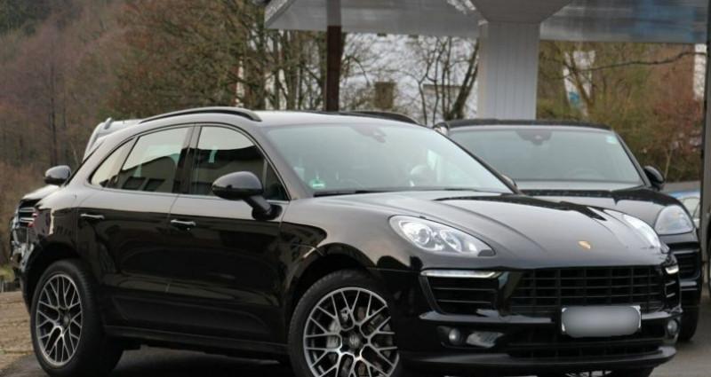Porsche Macan 3.0 V6 258ch S Diesel PDK Noir occasion à Boulogne-Billancourt - photo n°2