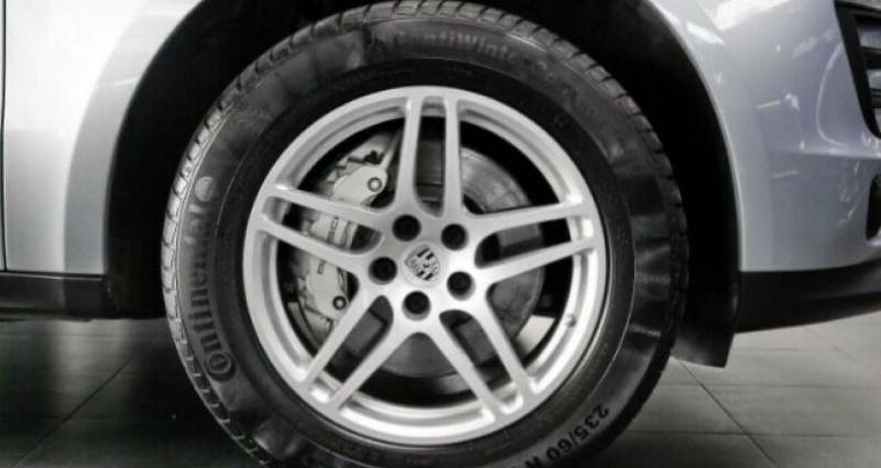 Porsche Macan 3.0 V6 258ch S Diesel PDK Argent occasion à Boulogne-Billancourt - photo n°2