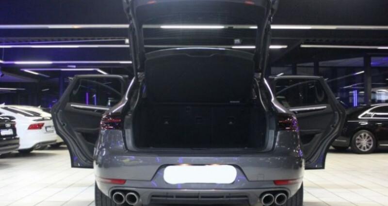 Porsche Macan 3.0 V6 258ch S Diesel PDK Gris occasion à Boulogne-Billancourt - photo n°5