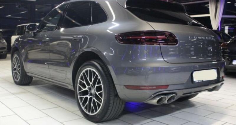 Porsche Macan 3.0 V6 258ch S Diesel PDK Gris occasion à Boulogne-Billancourt - photo n°2