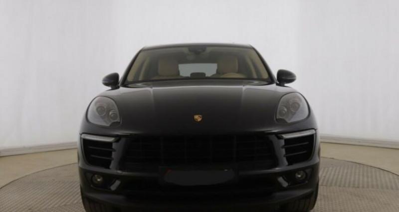 Porsche Macan 3.0 V6 258ch S Diesel PDK Noir occasion à Boulogne-Billancourt - photo n°3