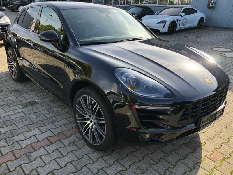 Porsche Macan 3.0 V6 258CH S DIESEL PDK Noir occasion à Villenave-d'Ornon - photo n°4