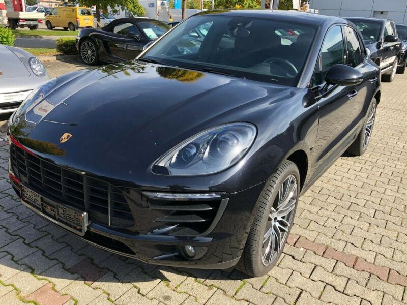 Porsche Macan 3.0 V6 258CH S DIESEL PDK Noir occasion à Villenave-d'Ornon